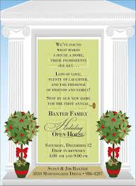 Halloween Party Invite Poem Christmas Open House Invitations Christmas Open House