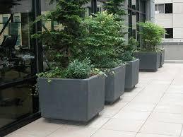 large concrete planter concrete planters cement planter boxes ornamental stone