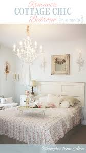 apartment u0026 townhouse living romantic cottage chic bedroom makeover