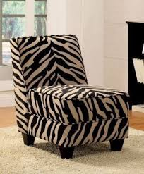 Zebra Accent Chair Animal Print Arm Chair Foter