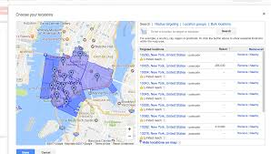 Brooklyn Zip Codes Map by Master Adwords Location Targeting