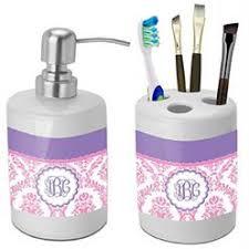 Purple Bathroom Accessories by Purple Bathroom Accessory Set