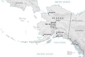 Alaska On A Map by Mckinley Vs Denali Who Decides Names On A Map