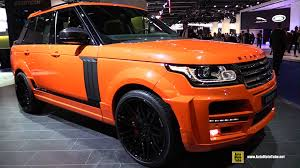 land rover queens 2016 range rover startech pickup exterior and interior