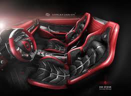 ferrari supercar concept ferrari 458 spider concept by carlex design looks astounding