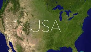 Satellite Map Usa United States Of America The Land Of Dreams And Opportunities