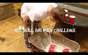 Challenge Vomit Pong Redbull And Milk Challenge Vomit Alert