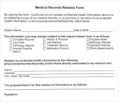 Patient Information Sheet Template How To Create A Release Form Intake Forms