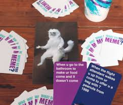 Meme Game - what do you meme card game popsugar tech