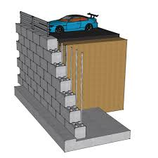 Block Wall Ideas by Innovation Idea Concrete Block Retaining Wall Design Cinder Block