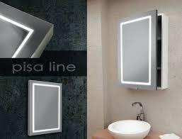 Bathroom Medicine Cabinet With Mirror And Lights by Bathroom Storage Mirrored Bathroom Cabinet With Led Lights