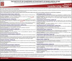the institute of chartered accountants of bangladesh icab in job