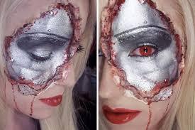 Terminator 2 Halloween Costume Scary Halloween Ideas Zip Face Freddy Krueger