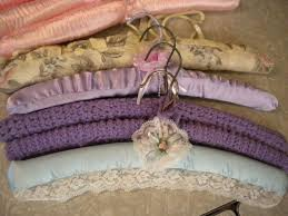 573 best shabby chic fabric coat hangers images on pinterest