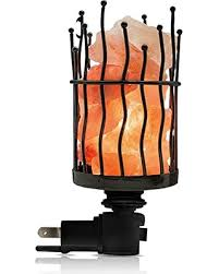 himalayan glow ionic crystal salt basket l slash prices on himalayan glow natural salt l pillar nightlight