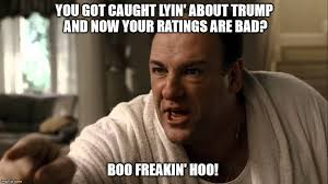 Tony Soprano Memes - too bad so sad cnn imgflip