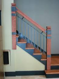 interior wooden railing stairs for lovely home interior wood