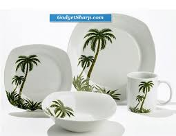 palm tree china pattern palm tree spoon rest dinner