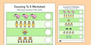 nursery rhyme themed counting to 5 worksheet nursery rhyme