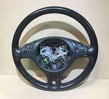 bmw 325i steering wheel bmw oem early e46 99 00 4 spoke leather steering wheel 32346753945