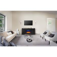 napoleon anya 27 in mantel package electric fireplace in black 2