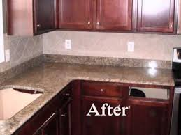 new venetian gold granite countertop charlotte nc on red cabinets