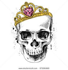 skull crown yellow stock images royalty free images vectors
