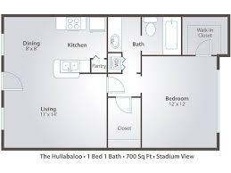 stadium floor plans 1 bedroom apartment floor plans with walk in closet 2 bedroom