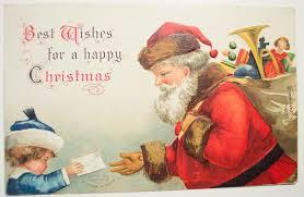 vintage stock graphics christmas and santa post cards free
