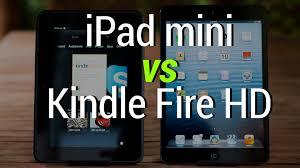 amazon ipad mini 2 black friday ipad mini vs kindle fire hd youtube