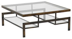 Coffee Table Glass by Glass And Stainless Steel Coffee Table D Thippo
