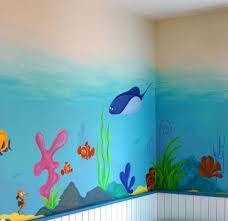 fresque murale chambre bébé sabine design sabine design decorations enfants peintures