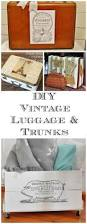 home decor my garden vintage luggage and graphics fairy