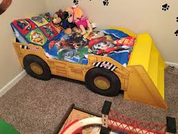 Paw Patrol Room Decor Tonka Bed For A Paw Patrol Room My Sons Paw Patrol Bedroom