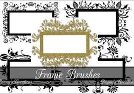 Free Decorative Frames Brushes