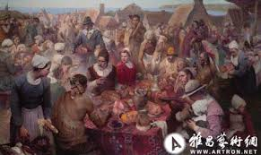 painting the thanksgiving 张红年艺术资讯 张红年官方网站 雅昌