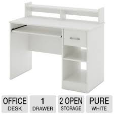 South Shore Small Desk South Shore Furniture Axess Small Desk White 7250076 At