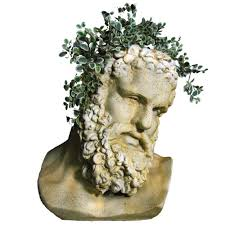 hercules planter head head planters planters and live plants