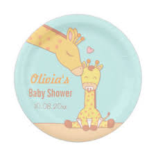 giraffe baby shower decorations giraffe baby shower gifts on zazzle