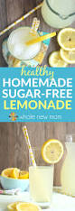 sugar free lemonade recipe homemade lemonade whole new mom