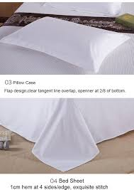 high quality hotel bed linen king size bed sheet set 100 cotton