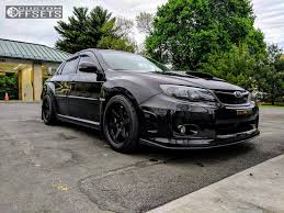 black subaru 2013 subaru wrx sti miro type 398 race comp engineering lowering springs