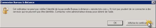 connexion bureau distance impossible essentials 2012 sbs 2011 2008 certificat rds