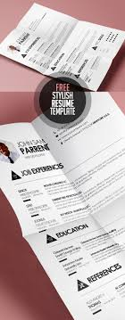 Free Of Resume Templates Free Resume Templates For 2017 Freebies Graphic Design Junction