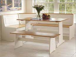 Kitchen Dining Furniture Contemporary White Kitchen Table With Bench Pretty Seat Wall To