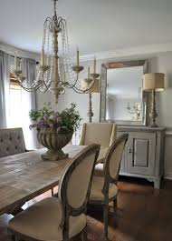 dining room astonishing farmhouse dining rooms with wall mirror