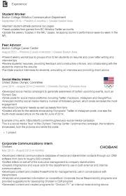 Example Of A Resume For A Highschool Student by How To Write An Effective Linkedin Profile Career Center