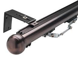 Designer Metals Decorative Traverse Rods by Select Metal Traverse Rod Sets