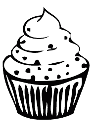 birthday cupcake is small and sweet coloring page birthday