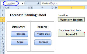 Demand Forecasting Excel Template by Excel Budget Forecast Vs Actual